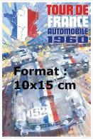 Photographie D´une Affiche Tour De France Automobile De 1960 - Reproductions