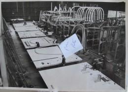 1939 Photo De Presse Originale. Hydravion Cams. Constructionen  Avril 1939. Aviation - Aviation