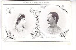 SERBIA Le Roi Et La Reine - Serbia