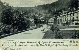 DERBYSHIRE - MATLOCK BATH - PROMENADE 1902 Db453 - Derbyshire