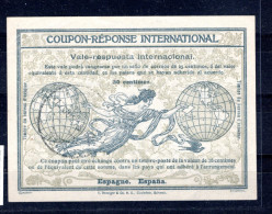 8056 IAS IRC CRI Coupon Reponse International Espana Spanien T4 Mit Stempel - Spanien