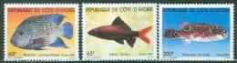 Ivory Coast 1981 Fish MNH** - Lot. 4200 - Côte D'Ivoire (1960-...)