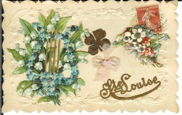 CPA SAINTE-LOUISE 12436 - Fêtes - Voeux