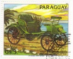Paraguay  -  Voitures Anciennes  -  Opel Lutzmann  - 1898 - Voitures