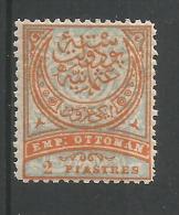 2pi Orange Et Blue Yt 62 - 1837-1914 Smyrna