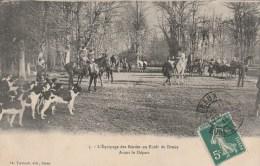 CPA LA CELLE LES BORDES (Yvelines) - L'équipage Des Bordes En Forêt De Dreux : Avant Le Départ - France