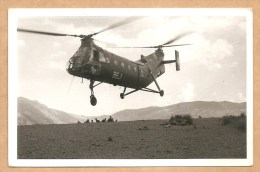 """C.P.S.M. Hélicoptère  BEG - Verso: Cachet """"Centre D´Instruction"""" - Voygée 1960 - AVIATION - AVION - Hélicoptères"""