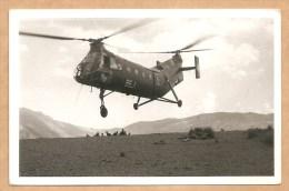 "C.P.S.M. Hélicoptère  BEG - Verso: Cachet ""Centre D´Instruction"" - Voygée 1960 - AVIATION - AVION - Helicopters"