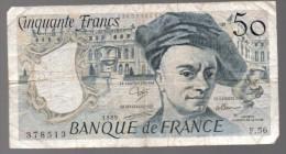 FRANCIA - FRANCE = 50 Franc 1989  P-152 - 1962-1997 ''Francs''