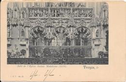 TROYES - 10 -  CPA DOS SIMPLE Du Jubé De L'Eglise Sainte Madeleine - ENCH - - Troyes