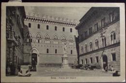 SIENA Piazza Del Monte - Viaggiata Nel 195246 -  Formato Piccolo - Ediz. G. B. - Siena