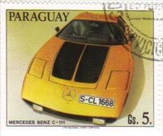 Paraguay  -  Voitures De Course  -   Mercedes Benz C-111 - Cars