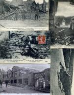 7352 - 12 Cpa Guerre De 14, Chateau-Thierry, Albert,  Verdun, Steinbach...petites Animations - 5 - 99 Karten