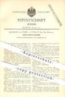 Original Patent - Hermann Von Poser In Guhrau , Breslau , 1890 , Zugluft Abhaltende Doppeltür , Tür , Türen , Zarge !! - Historische Dokumente