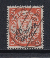 (01235) Danzig Dienstmarke 41 A Gestempelt Geprüft - Danzig
