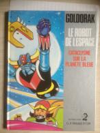 - Lot De 4 Bandes Dessinées - Goldorak - Le Robot De L'espace - - Loten Van Stripverhalen