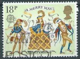GB  1981 Folklore: Morris Dancers  18p.  SG 1144 SC 934 MI 868 YV 973 - Used Stamps