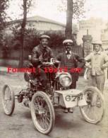 Reproduction D'une Photographie D'une Voiture Participant Au Tour De France Automobile De 1899 - Riproduzioni