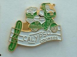 Pin´s CALYPSO COURSES - SCOOTER - Motorbikes