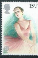 GB  1982 Theatre (Europa): Ballerina  15½p.  SG 1183 SC 987 MI 914 YV 1043 - Used Stamps