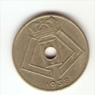 Monnaie - Belgique - 10 Centimes - 1938 FR - 02. 10 Centimes