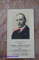 Josse Delcourt De Knoop Notaire Rongy 1882 Péruwelz 1953 - Brunehaut