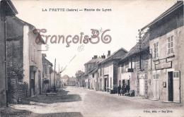 (38) La Frette - Route De Lyon - 2 SCANS - Sonstige Gemeinden