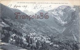 (38) Le Rivier D'Allemont - Col De La Coche Et Montagnes Des Sept Laux - 2 SCANS - Autres Communes