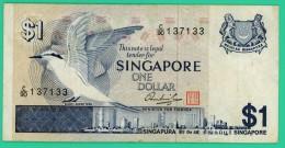1 Dollar - Singuapour - N°.C/90 137133 - TB+ - Singapour