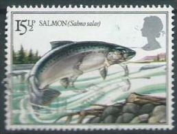 GB  1983 Fishes: Atlantic Salmon  15½p.  SG 1207 SC 1011 MI 938 YV 1067 - Used Stamps