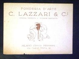 LOMBARDIA  -MILANO -FONDERIA LAZZARI -F.P. LOTTO N°472 - Milano