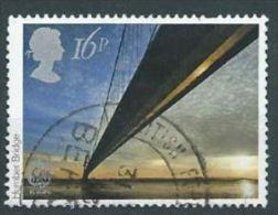 GB  1983 Engineering (Europa): Humber Bridge   16p.  SG 1215 SC 1019 MI 953 YV 1091 - Used Stamps