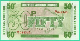 50p Fifty New Pence - Angleterre - British Armed Forcers -  N° B/I 044345 - Neuf - [ 6] Conmemorativas
