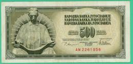 500 Dinar - Yougoslavie - 12.8.1978 - N° AM2261956  Sup - Yugoslavia