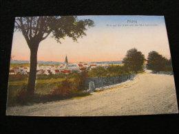 Cpa  Allemagne Alzey -- Blick Auf Die Stadt Von Der Eisenbahnbrücke  BB10 - Alzey
