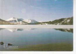 ORCIVAL (63-Puy-de-Dôme), Le Lac De Guéry. Neige, Vers De Beaudelaire, Ed. F. Debaisieux 1985 - Autres Communes