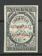 FRANKREICH France Timbre Fiscal Revenue Tax Steuermarke O - Fiscaux
