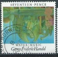 GB 1985 'Winter Music' By Handel  17p.  SG 1282 SC 1103 MI 1027 YV 1178 - 1952-.... (Elizabeth II)