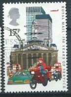 GB 1985 Datapost Motorcyclist, City Of London  17p.  SG 1290 SC 1111 MI 1035 YV 1186 - 1952-.... (Elizabeth II)