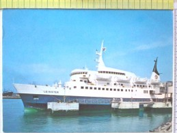 Cart.- NAVI -  Dublin - Leinster Car Ferry. - Chiatte, Barconi
