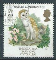 GB 1986 Barn Owl  17p.  SG 1320 SC 1141 MI 1068 YV 1222 - 1952-.... (Elizabeth II)