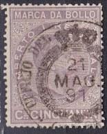 Regno D'Italia - 10c Marca Da Bollo - Usato° - 1861-78 Victor Emmanuel II.