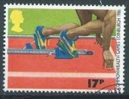 GB 1986 Athletics  17p.  SG 1328 SC 1149 MI 1076 YV 1231 - 1952-.... (Elizabeth II)