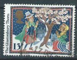 GB 1986 The Glastonbury Thorn  13p.  SG 1342 SC 1163 MI 1097 YV 1253 - Used Stamps