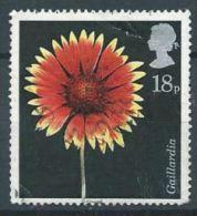 GB 1987 North American Blanket Flower  18p.  SG 1347 SC 1168 MI 1097 YV 1256 - Used Stamps