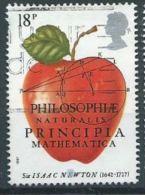 GB 1987 The Principia Mathematica  18p  SG 1351 SC 1172 MI 1001 YV 1260 - Used Stamps