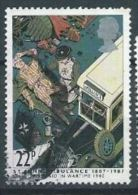 GB 1987 Bandaging Blitz Victim, 1940  22p.  SG 1360 SC 1181 MI 1110 YV 1271 - Used Stamps