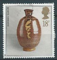 GROSSBRITANNIEN GRANDE BRETAGNE GB 1987 Pot By Bernard Leach 18p.  SG 1371 SC 1192 MI 1122 YV 1284 - 1952-.... (Elizabeth II)