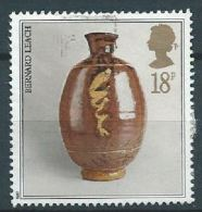 GROSSBRITANNIEN GRANDE BRETAGNE GB 1987 Pot By Bernard Leach 18p.  SG 1371 SC 1192 MI 1122 YV 1284 - Used Stamps