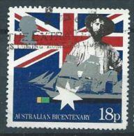 GB 1988 Early Settler And Sailing Clipper  18p.  SG 1396 SC 1217 MI 1151 YV 1315 - 1952-.... (Elizabeth II)